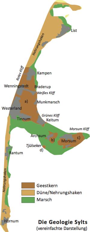 Karte Von Sylt.Wegweiser Sylt Die Karte Von Der Insel Sylt